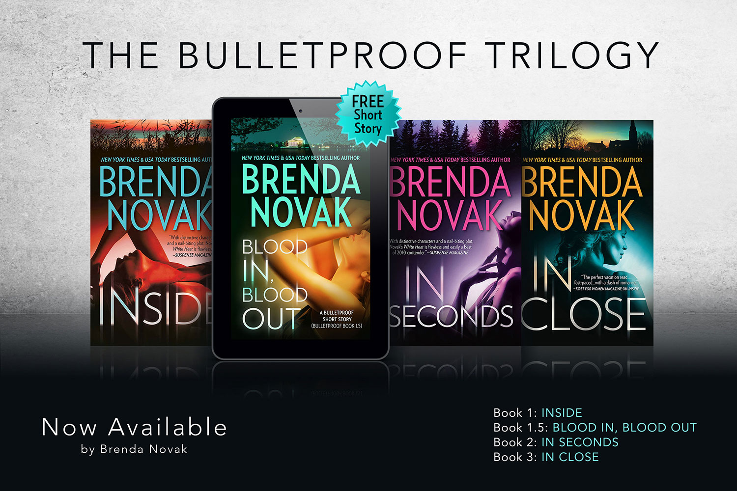 The Bulletproof Trilogy + 1 Free Short Story